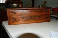 Thread & Spool Cabinet, #Willimantic, Oak, Awesome