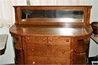 Sideboard, Tiger Oak, #GrandRapidsFurniture