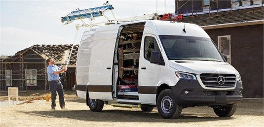 Mercedes Benz Sprinter 3.55t FWD Panel Van 414 MWB 9AT