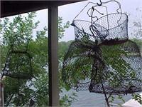 Three Wire Fish Baskets
