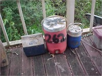 Two Water Jugs and Ice Chest
