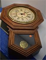 Gilbert Clock Co. Wall Clock (glass is missing