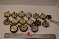 14 - Pocket Watches Requires Repairs