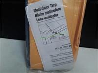Multi-Color Tarp