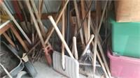 shovels-rakes-post hole digger