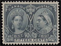 Canada Stamps #50-56 Mint LH F/VF CV $1332