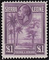 Sierra Leone Stamps #140-152 Mint LH CV $317.10
