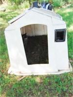 Poly square calf nursery door missing