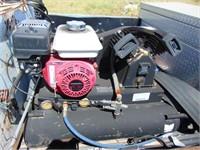 Gas powered air compressor with Honda 200