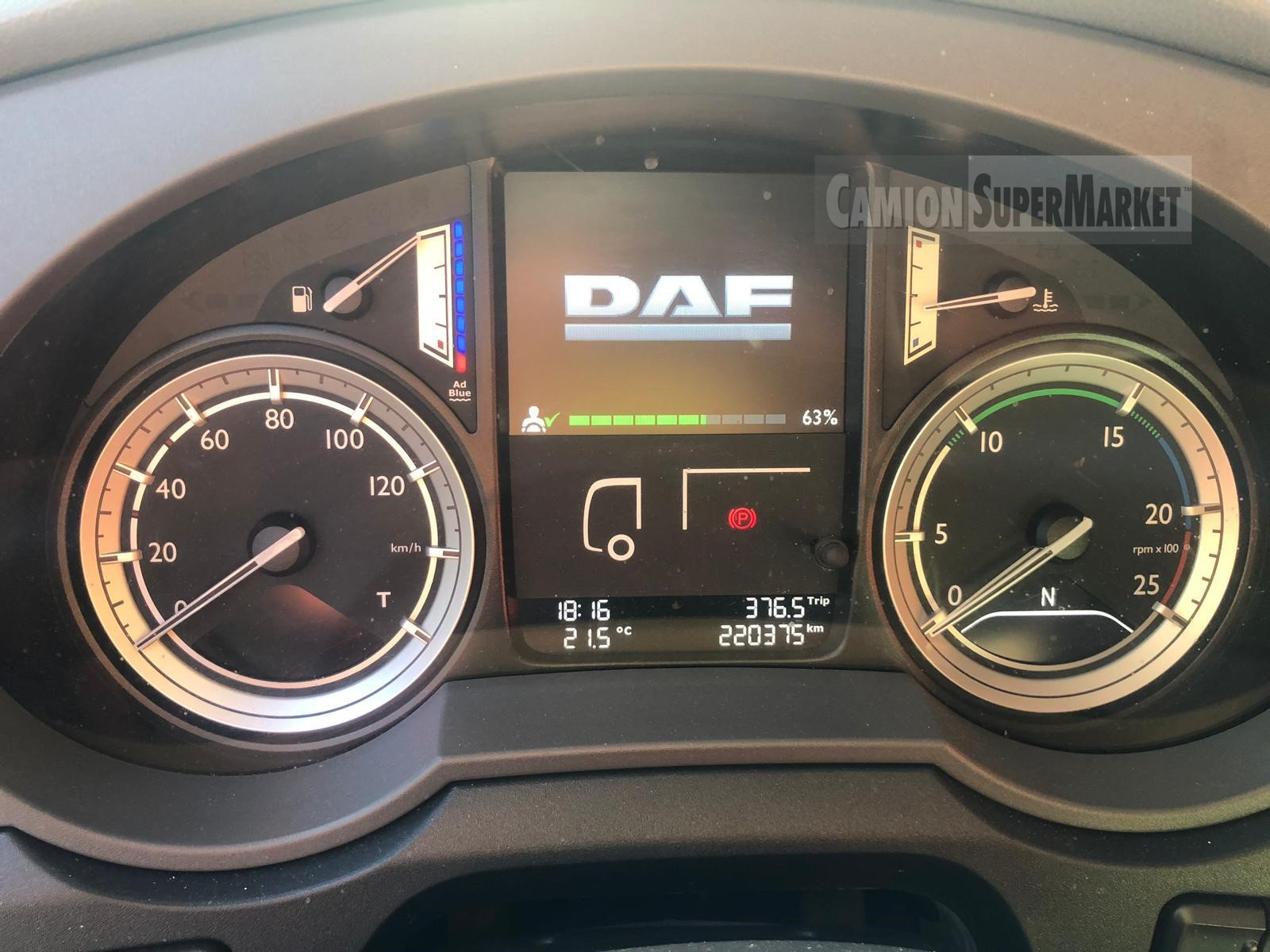 Daf XF460 used 2016