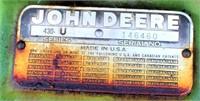 1959 John Deere 430 Tractor (view 7)