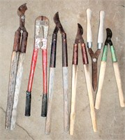 Old Dehorners, Cutters, Pruners