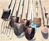 Old Yard Tools