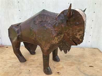 Metal Buffalo Sculpture Other Items For Sale In Louisiana