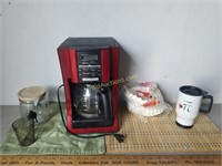 Mr.Coffee Maker/Place Mats/Cups & More