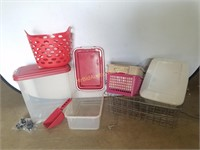 Containers/ Totes & Racks
