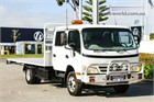 2007 Hino 300 Series 816 Crew Cab Chassis