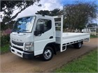 Fuso Canter 515 Wide AMT 4x2|Table / Tray Top Drop Sides