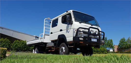2012 Fuso Canter FG 4x4 Crew Cab - Trucks for Sale