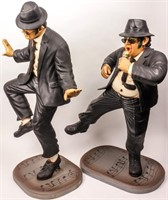 The Blues Brothers! Jake & Elwood Statues