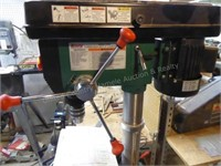 "Grizzly 12spd. 14"" floor drill press w/ vise"