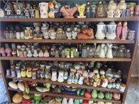 2000+ Salt & Pepper shakers online only auction