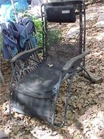Reclining Yard Chair
