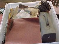 Tub of Sandpaper