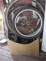 Tires, Tubes and Wheels