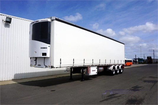 2016 Vawdrey Refrigerated Curtainsider Trailer - Trailers for Sale