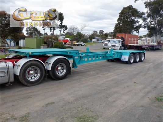 2008 Maxitrans Drop Deck Skel Semi Trailer Grays Bendigo - Trailers for Sale
