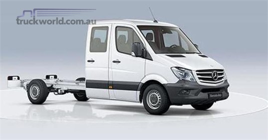 Mercedes Benz Sprinter RWD Dual Cab Chassis 316 MWB 7AT
