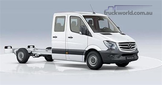Mercedes Benz Sprinter RWD Dual Cab Chassis 416 LWB 7AT