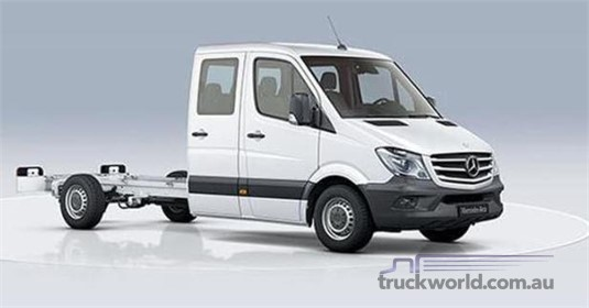 Mercedes Benz Sprinter 5.0t RWD Dual Cab Chassis 516 MWB 7AT
