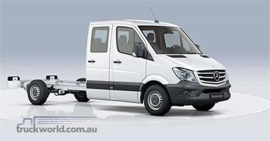 Mercedes Benz Sprinter 5.0t RWD Dual Cab Chassis 519 MWB 7AT
