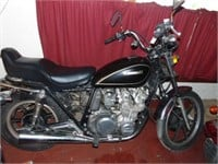 Online Auction - Motorcycle Collection