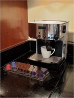 Lot of Coffee Machine, Espresso Capsules, and Mug