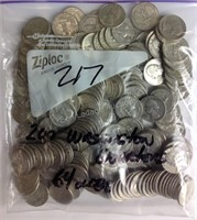 Estate of Richard Lane Coin Auction - SILVER