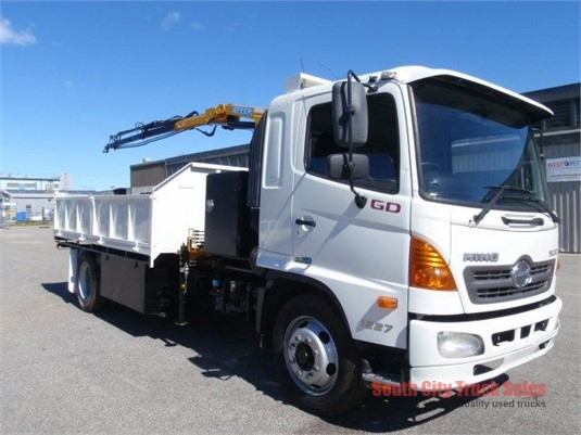 2008 Hino 500 Series 1227 GD South City Truck Sales  - Trucks for Sale