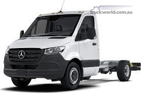Mercedes Benz Sprinter 4.49t  RWD Single Cab Chassis 519 LWB 7AT