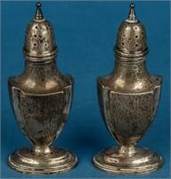 Lot of 3 Sets Sterling Silver Salt  Pepper Shakers