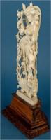 Vintage Ivory Figurine of Maa Lakshmi