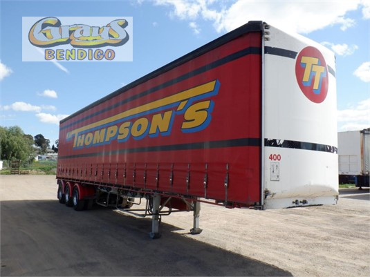 2005 Maxitrans Flat Top Trailer Grays Bendigo - Trailers for Sale