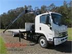 2020 Isuzu FSR 140 260 XLWB Crane Truck