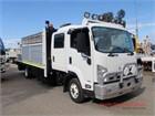 2014 Isuzu FRR 600 Premium Crane Truck