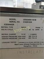 Manitowac ~240lbs U/C Ice Machine on Wheels
