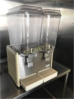 Carthco Twin Head Refrigerated Drink Dispenser