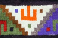 Colorful Native American Blanket