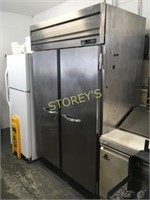 Beverage Air 2dr S/S Freezer on Wheels