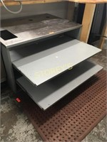 HD S/S Cabinet w/ 2 Roll Out Drawers - 48x34x28